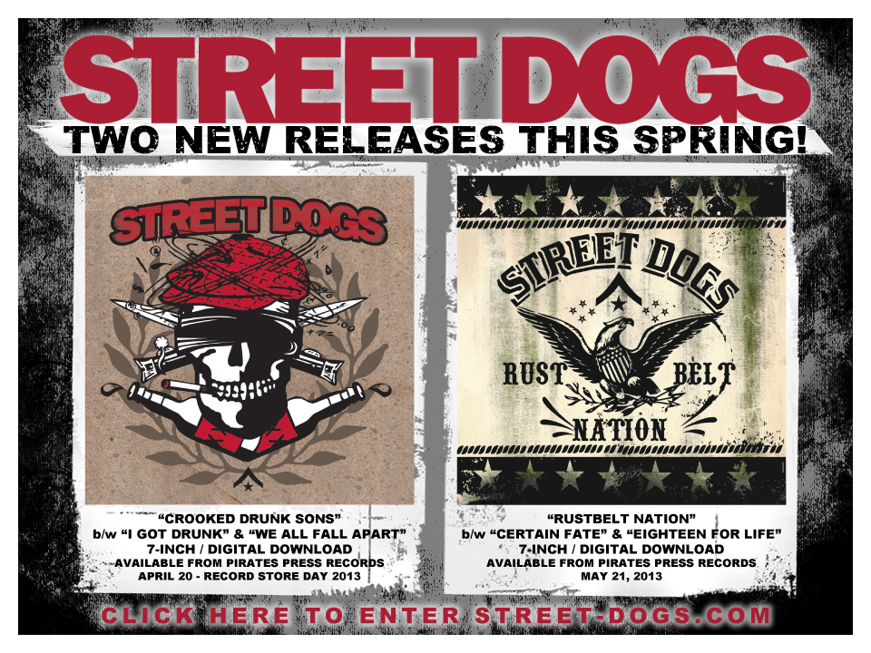 CROOKED DRUNKEN SONS! at + STREETDOGS +