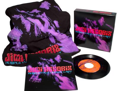 Threads+Grooves (Purple Haze B/W Foxy Lady)